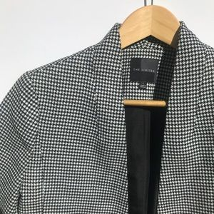 The Limited || Houndstooth Open Face Blazer